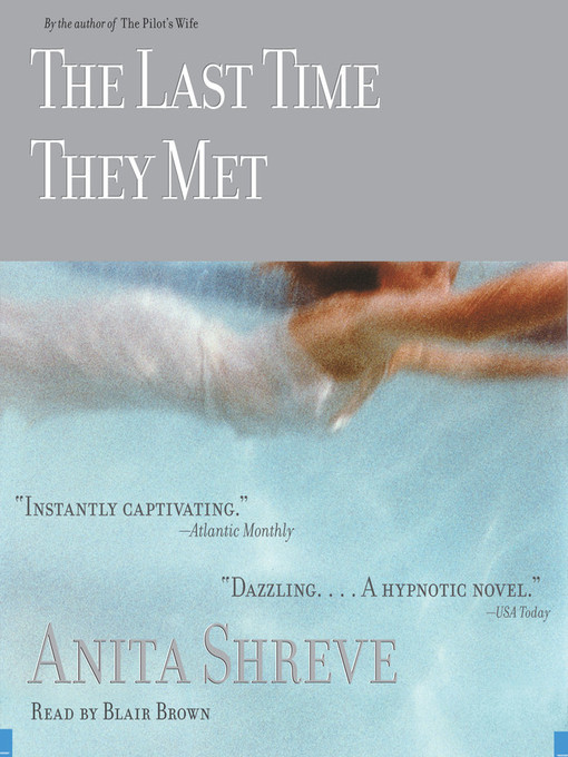 Title details for The Last Time They Met by Anita Shreve - Available