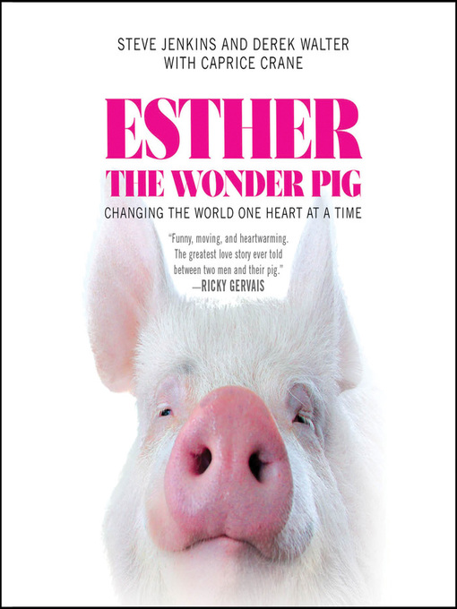Cover of Esther the Wonder Pig