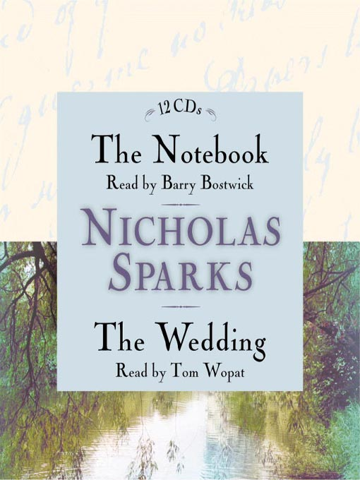 Title details for The Notebook & the Wedding Box Set by Nicholas Sparks - Available