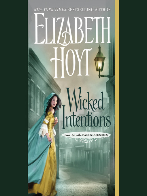 Title details for Wicked Intentions by Elizabeth Hoyt - Wait list