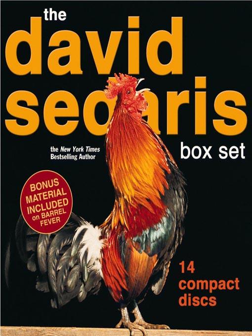 Title details for The David Sedaris Box Set by David Sedaris - Wait list