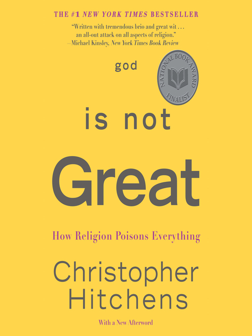 Title details for God Is Not Great by Christopher Hitchens - Available