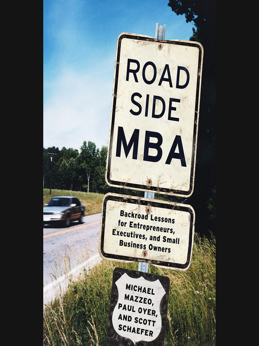 Title details for Roadside MBA by Michael Mazzeo - Available
