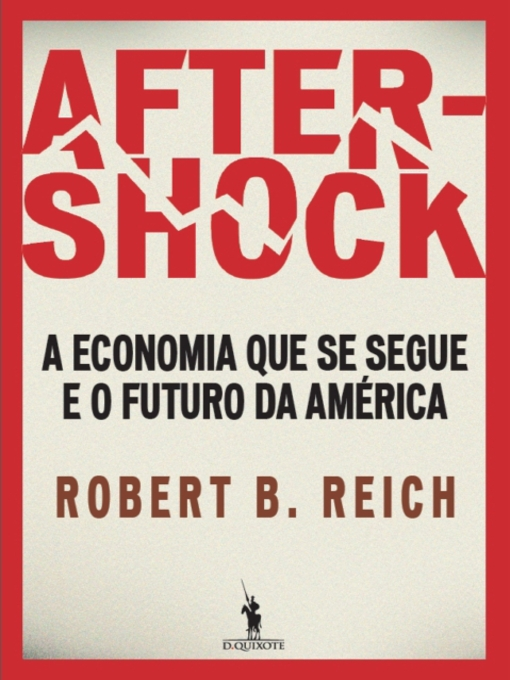 Cover of Aftershock ? a economia que se segue e o futuro da América