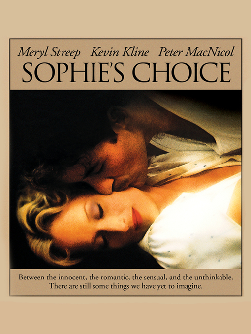 Title details for Sophie's Choice by Meryl Streep - Available