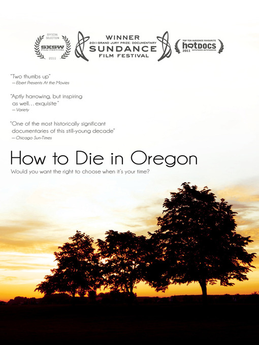Cover of How to Die in Oregon