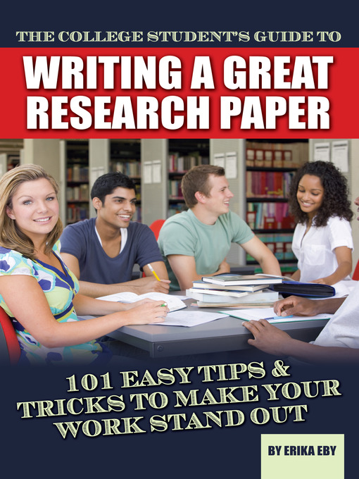 a great research paper Time for the dreaded paper learn how to get started in your research  indiana university has a great tutorial for writing thesis statements.