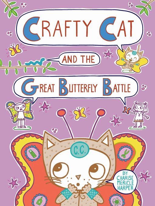 Cover of Crafty Cat and the Great Butterfly Battle
