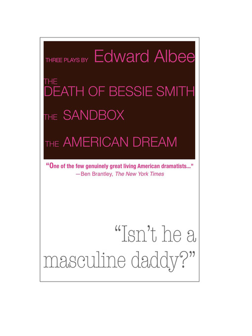 Title details for Three Plays by Edward Albee by Edward Albee - Available