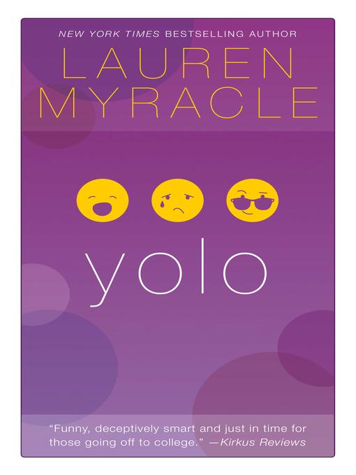 Title details for YOLO by Lauren Myracle - Wait list