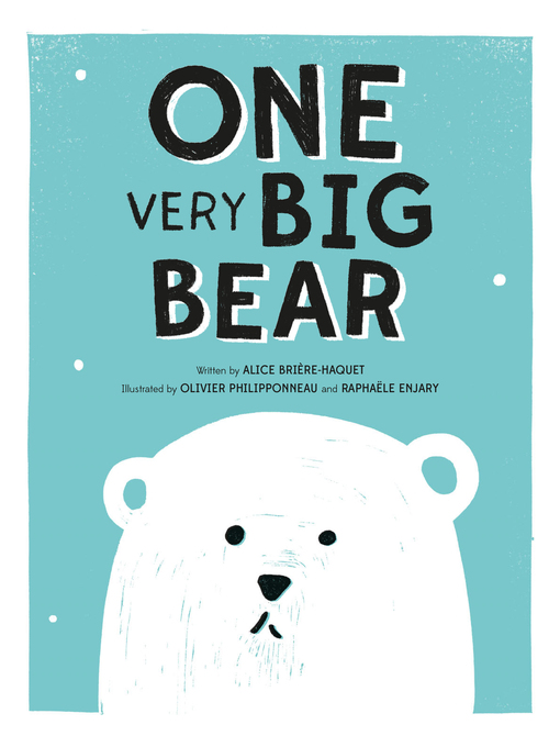 Cover of ONE Very Big Bear