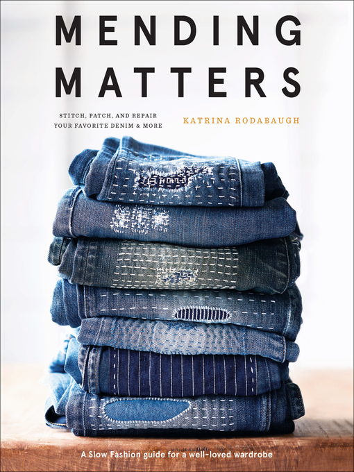 Title details for Mending Matters by Katrina Rodabaugh - Wait list