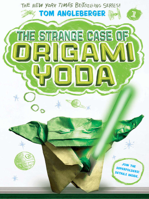 Cover of The Strange Case of Origami Yoda