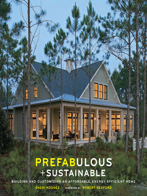 Cover of Prefabulous + Sustainable