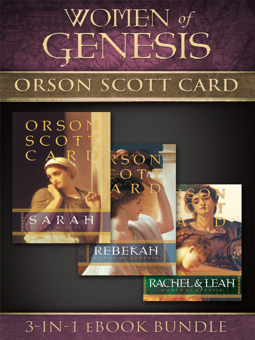 Title details for Women of Genesis by Orson Scott Card - Available