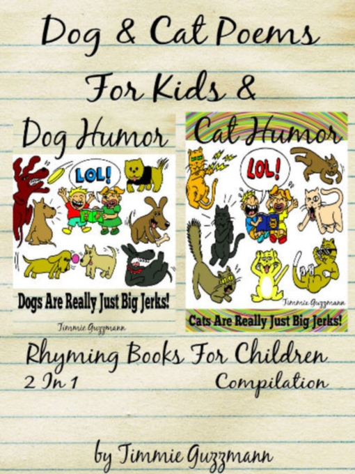 Title details for Funny Dog & Cat Poems For Kids by Timmie Guzzmann - Available
