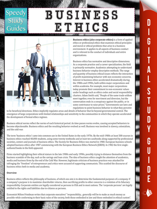 an analysis of ethics in business and the profit from ethical behavior