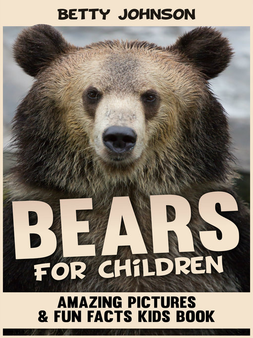 Cover of Bears for Children
