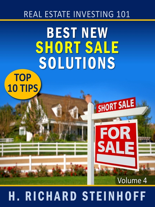 Cover of Best New Short Sale Solutions, Top 10 Tips