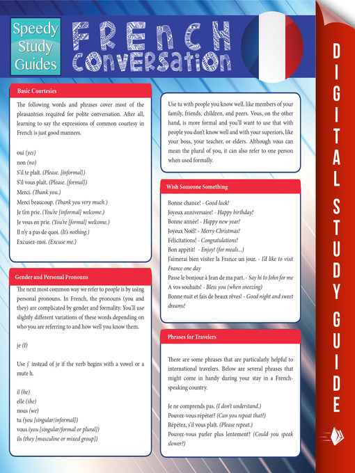 Title details for French Conversation by Speedy Publishing - Available