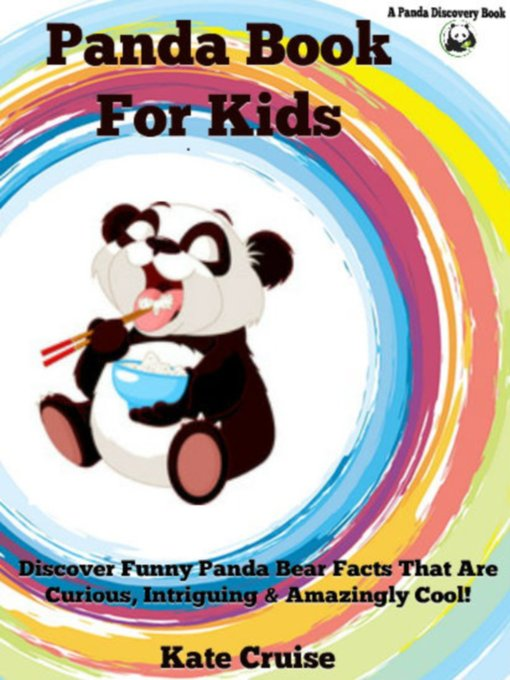 Cover of Panda Book For Kids