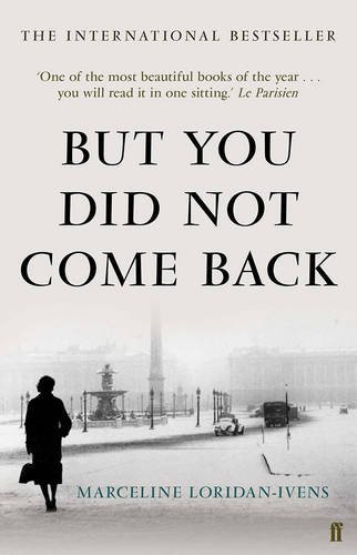 Cover of But You Did Not Come Back