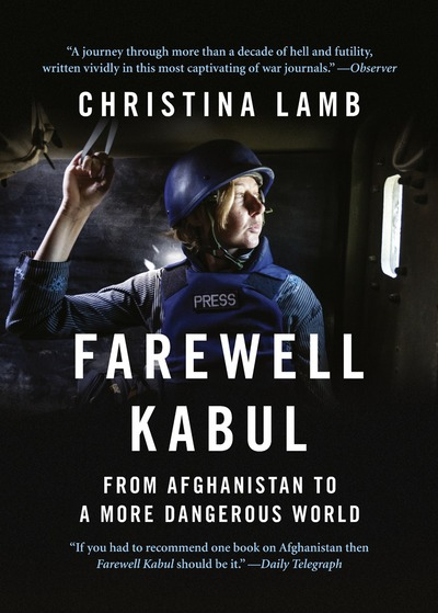 Cover of Farewell Kabul