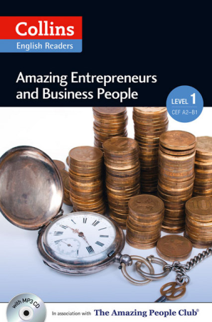 Cover of Amazing Entrepreneurs and Business People Level 1: A2