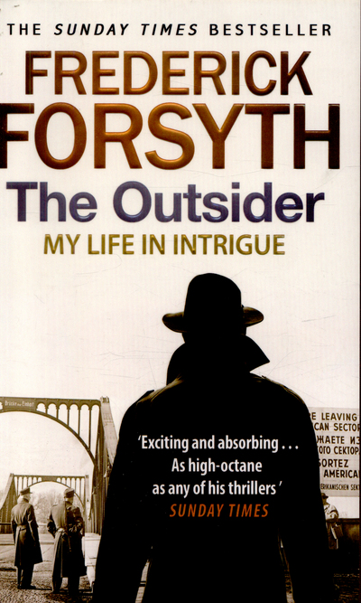 Cover of The Outsider: My Life in Intrigue