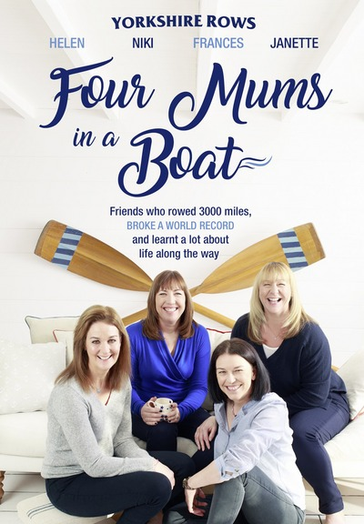 Cover of Four Mums in a Boat