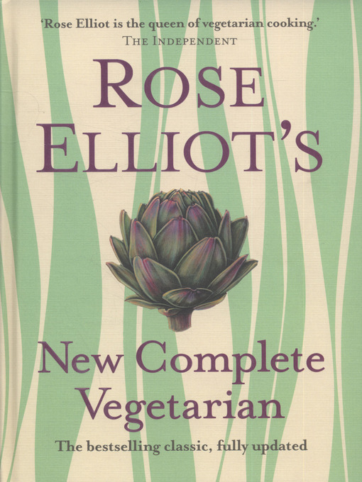 Cover of Rose Elliot's new complete vegetarian