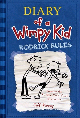 Cover of Diary of a Wimpy Kid: Rodrick Rules