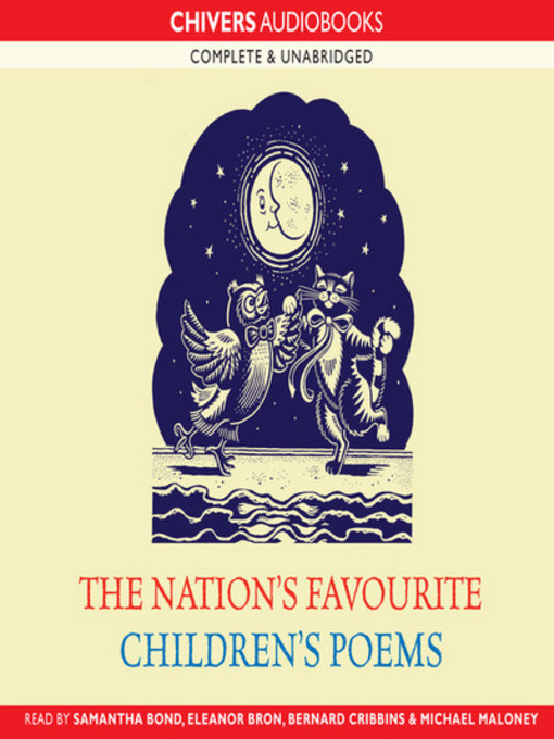 Cover of The nation's favourite children's poems