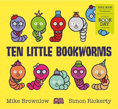 Cover of Ten Little Bookworms