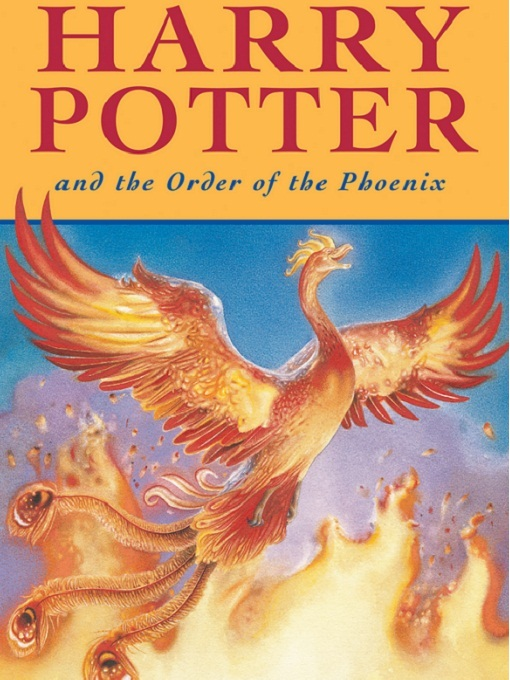 Cover of Harry Potter and the Order of the Phoenix (Harry Potter Book 5)
