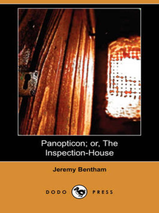 Cover of Panopticon or, The Inspection-House