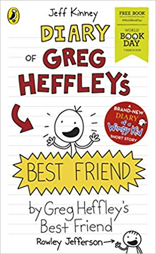 Cover of Diary of Greg Heffley's Best Friend