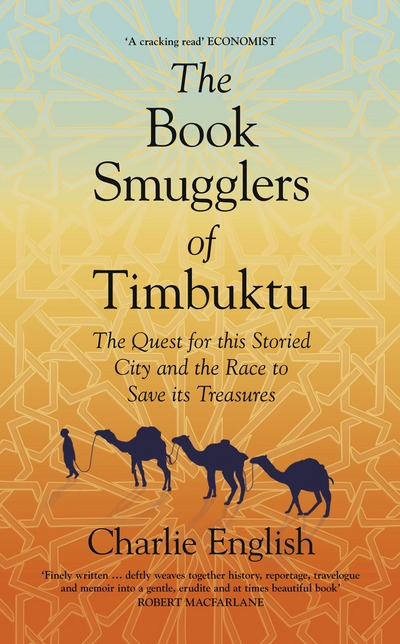 Cover of The Book Smugglers of Timbuktu