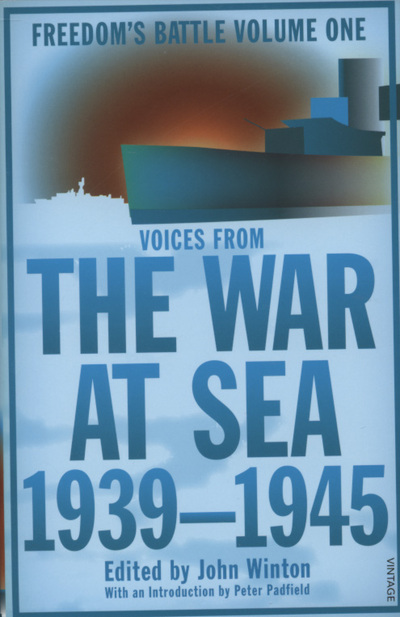 Cover of The War at Sea 1939-45