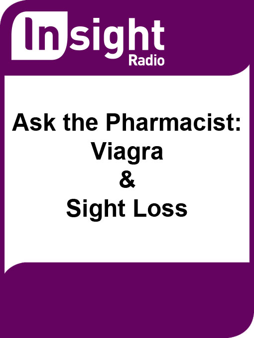 Cover of Ask the Pharmacist: Viagra and Sight Loss