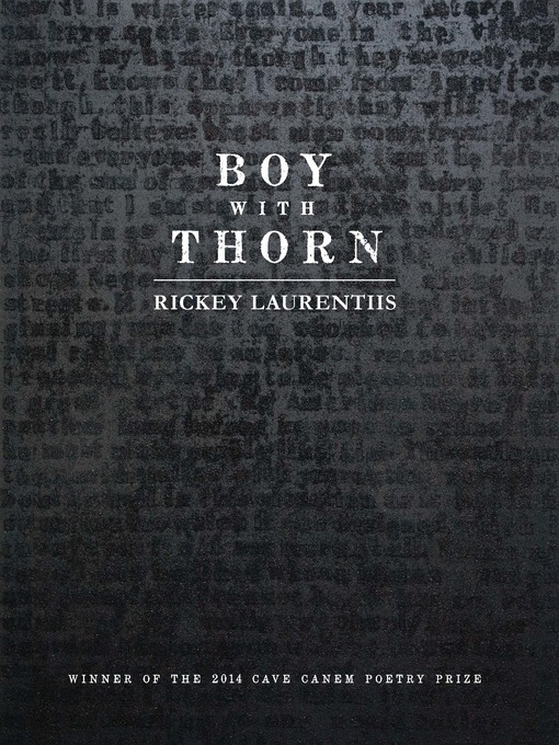 Title details for Boy with Thorn by Rickey Laurentiis - Available