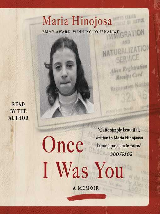 Title details for Once I Was You by Maria Hinojosa - Wait list