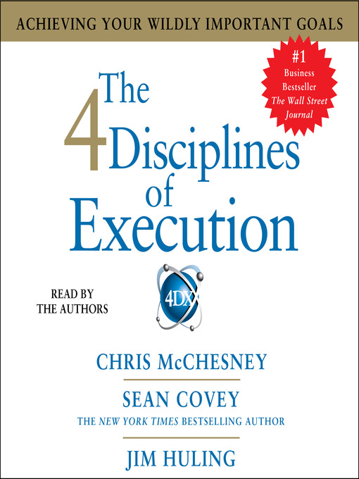 Title details for The 4 Disciplines of Execution by Sean Covey - Wait list