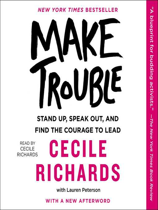 Cover of Make Trouble