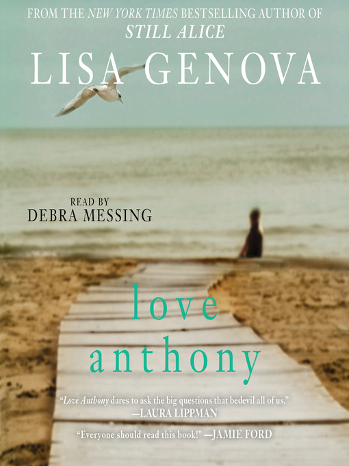 Title details for Love Anthony by Lisa Genova - Wait list