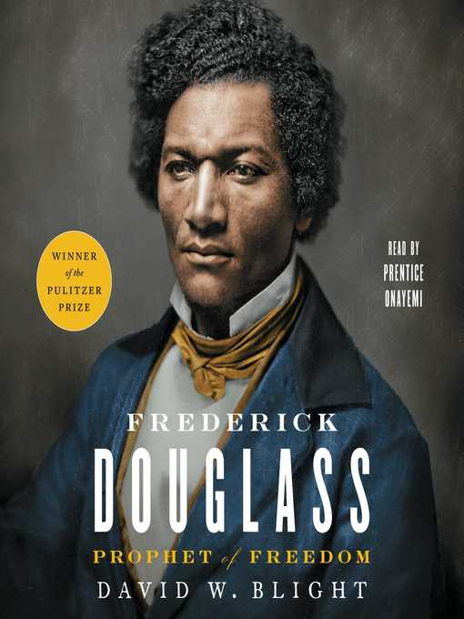 Title details for Frederick Douglass by David W. Blight - Wait list