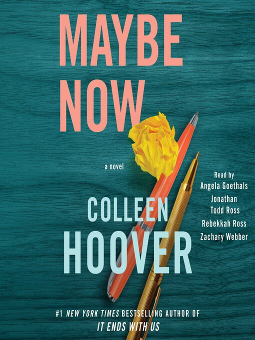 Title details for Maybe Now by Colleen Hoover - Wait list