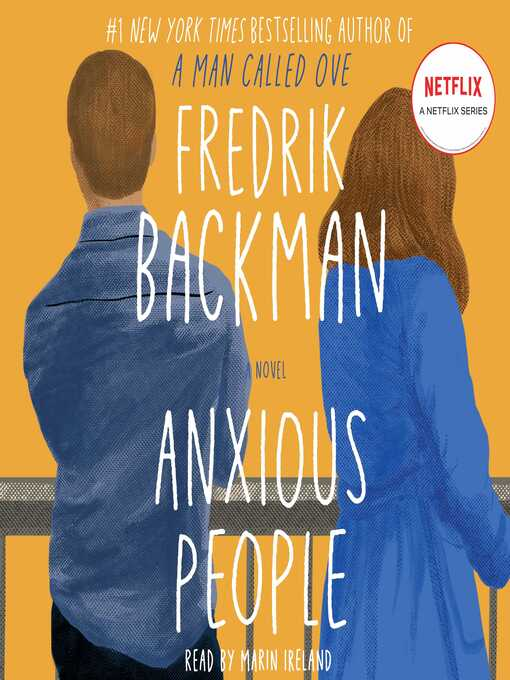 Title details for Anxious People by Fredrik Backman - Wait list