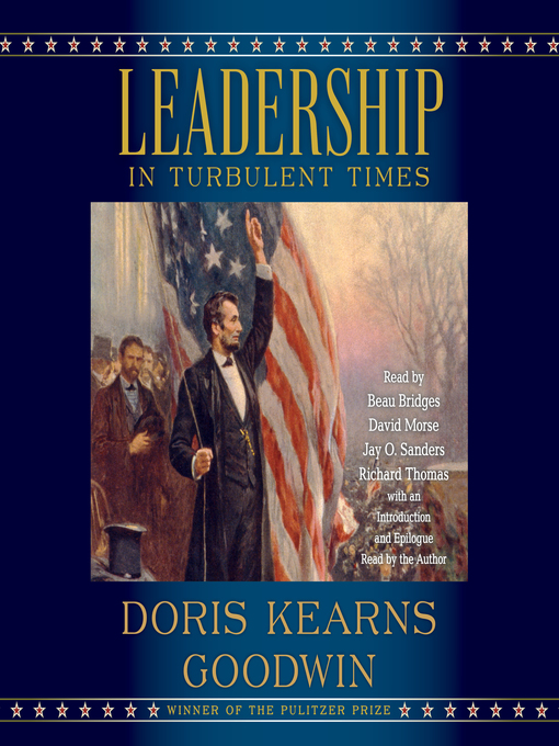 Title details for Leadership by Doris Kearns Goodwin - Wait list