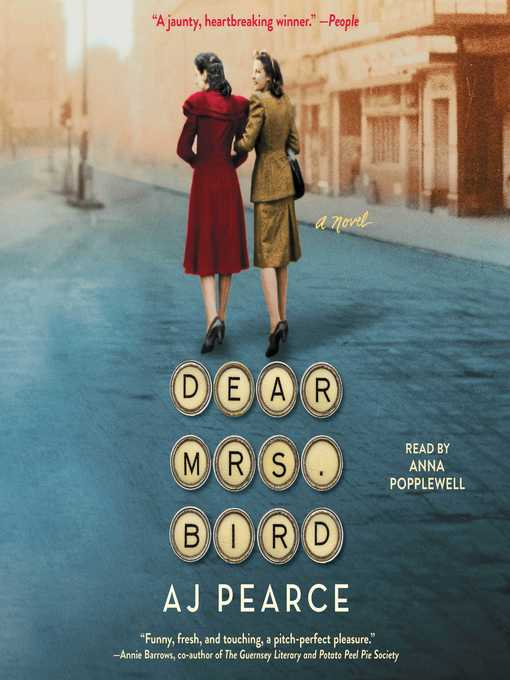 Title details for Dear Mrs. Bird by AJ Pearce - Wait list